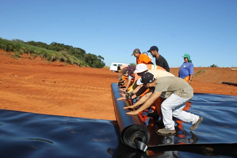 Prefeitura amplia área de recepção de resíduos no Aterro Sanitário