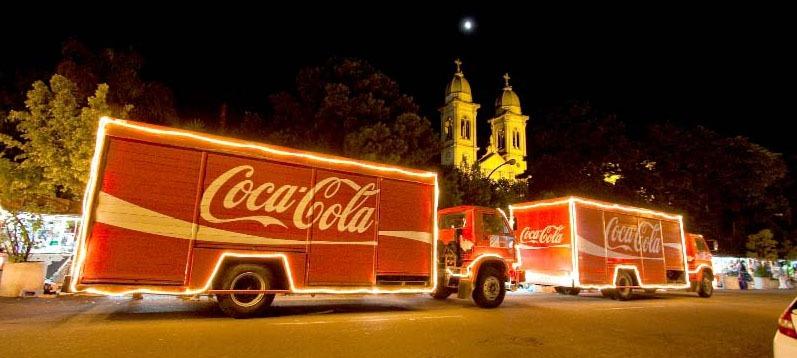 Sorocaba Refrescos anuncia novas atrações para Caravana de Natal Coca-Cola 2014
