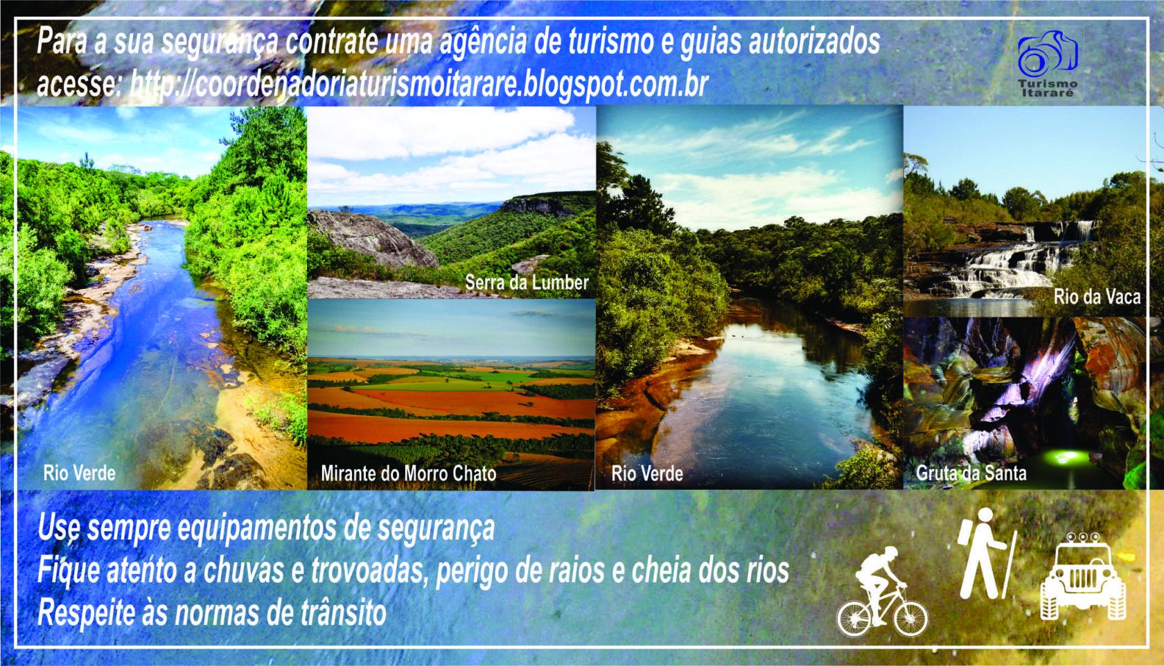 Turismo de Itararé (SP) disponibiliza roteiro de atrativos para aproveitar o verão