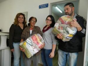 Secretaria de Assistência Social fornece cesta básica para famílias carentes