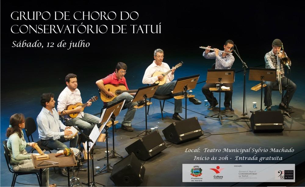 Grupo de Choro do Conservatório de Tatuí realiza apresentação inédita em Itararé
