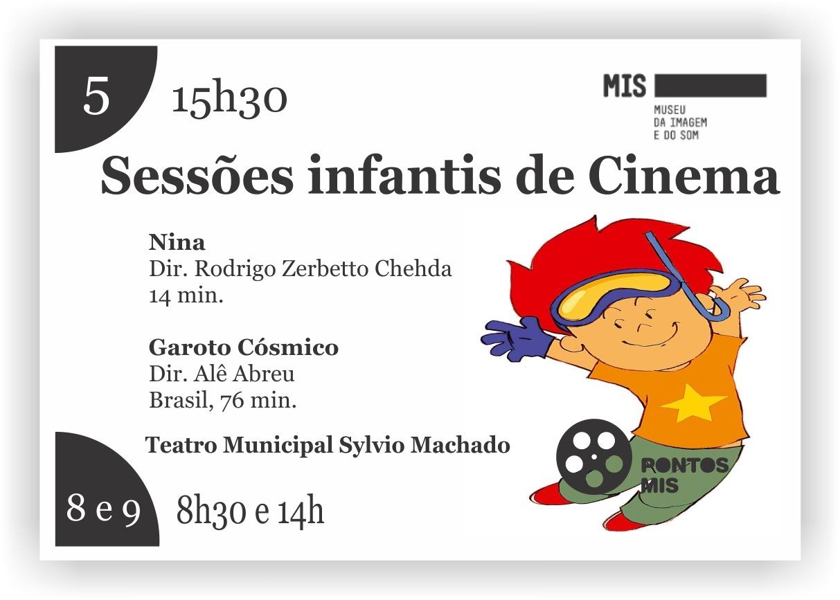 Domingo de eleições também tem cinema infantil em Itararé!
