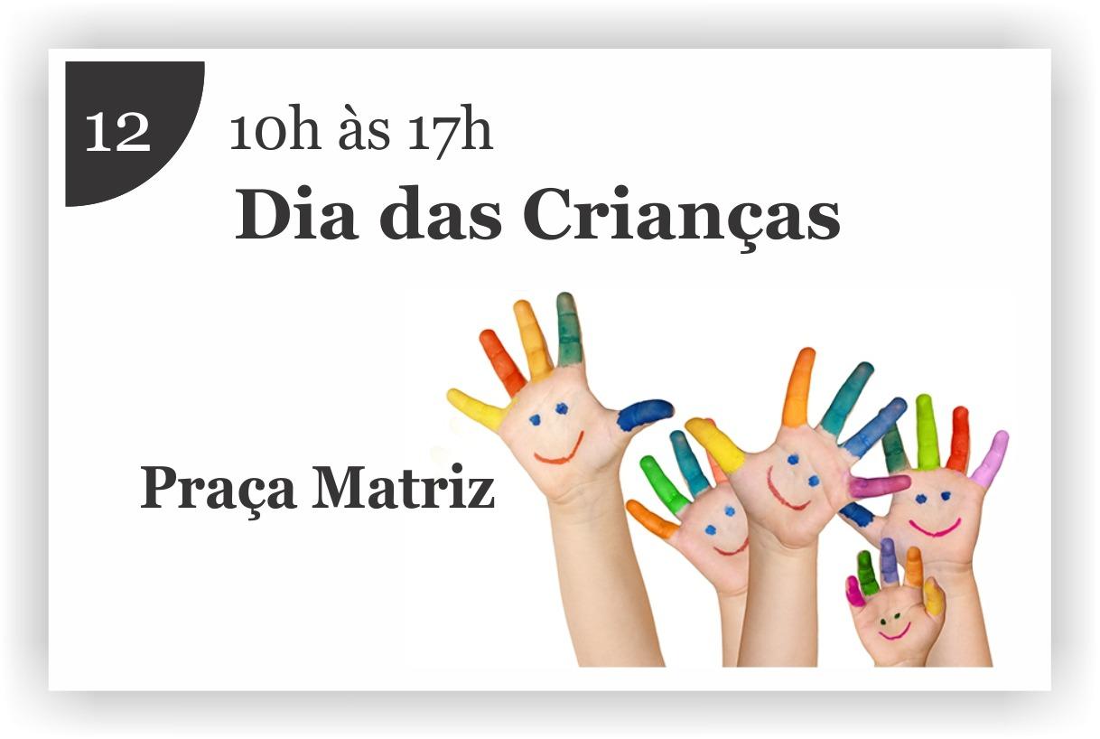 Prefeitura promove evento em comemoração ao Dia das Crianças
