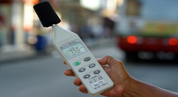 Demutran adquire decibelímetro?