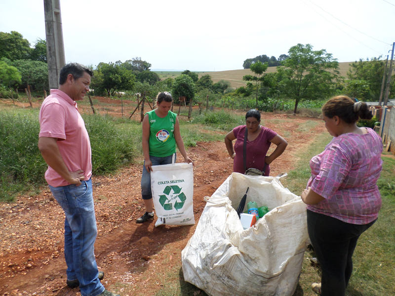 Coleta Seletiva no Cerrado é projeto que deu certo