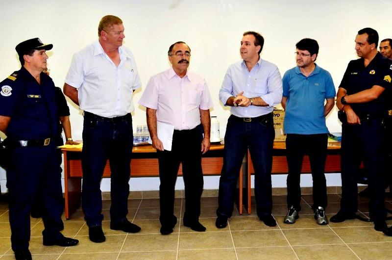 Secretário de Defesa Social visita nova sede da Secretaria de Segurança de Guarulhos