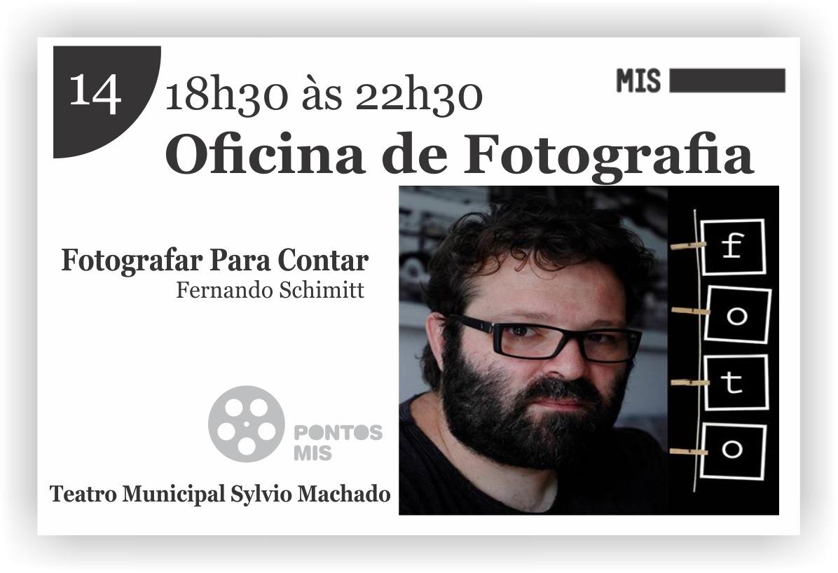 Coordenadoria de Cultura abre inscrições para Oficina de Fotografia com professor do Museu da Imagem e do Som de São Paulo