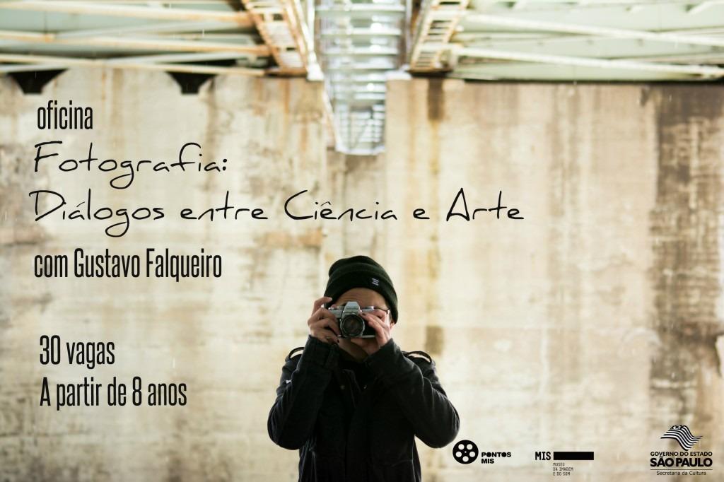 Coordenadoria de Cultura abre inscrições para Oficina de Fotografia sobre os diálogos entre ciência e arte