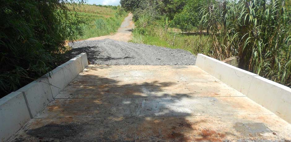 Santa Cruz dos Lopes receberá ponte metálica
