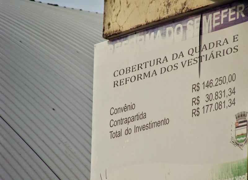 Em breve: Término da reforma do Ginásio Ludovico Carlos Pannis (Semefer)