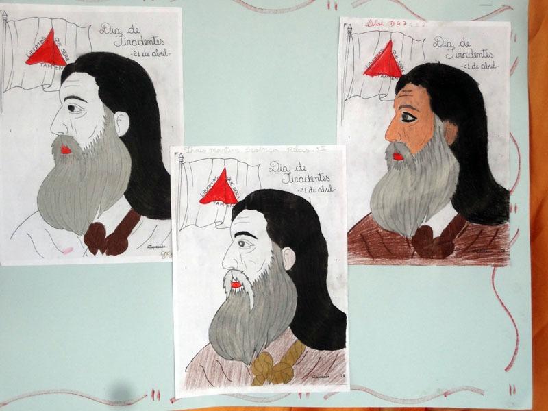 Comemoração de Tiradentes e Páscoa nas unidades escolares