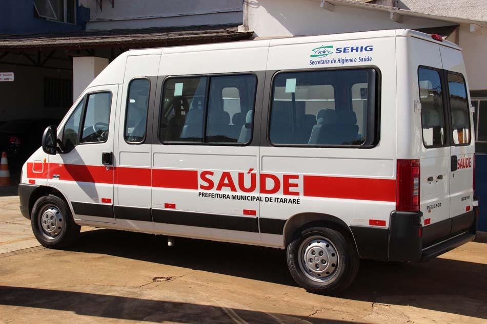 Itararé adquire mais uma van para transporte de pacientes