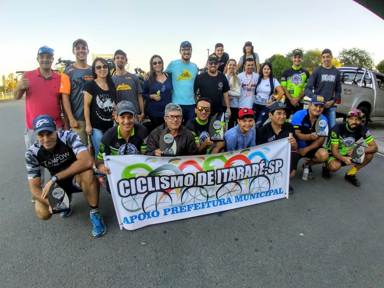 Itararé (SP) conquista sete troféus na 4ª Etapa da Copa Sudoeste de MTB