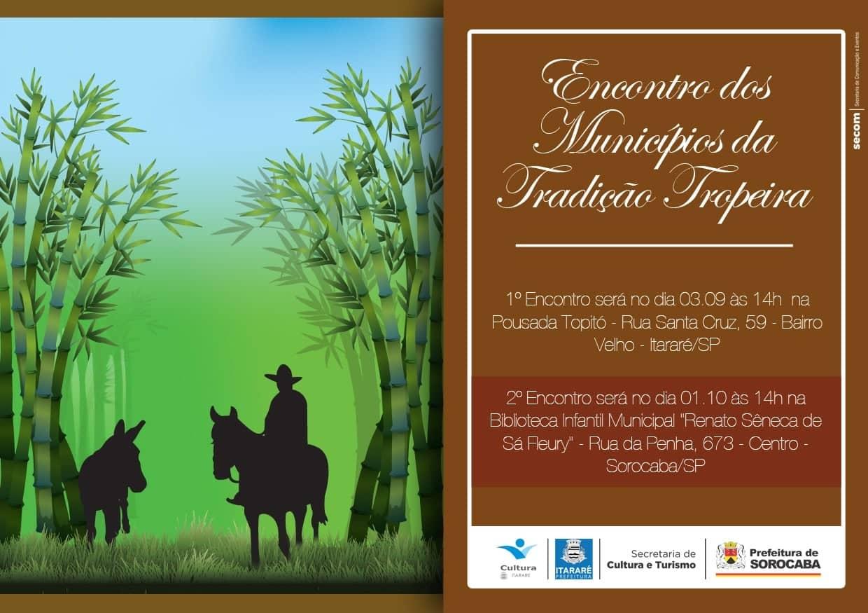 Cultura de Itararé (SP) promove 1º Encontro dos Municípios da Tradição Tropeira