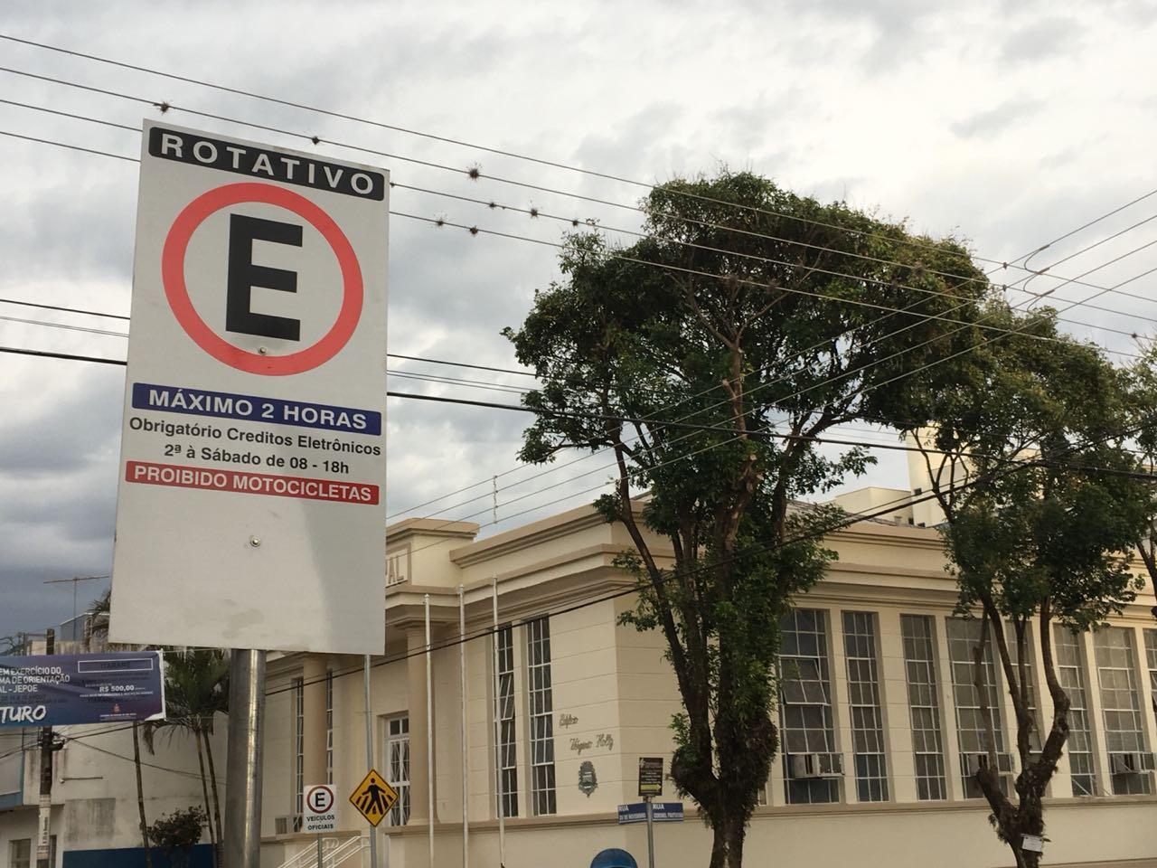 Prefeitura de Itararé (SP) inicia processo de sinalização da Zona Azul