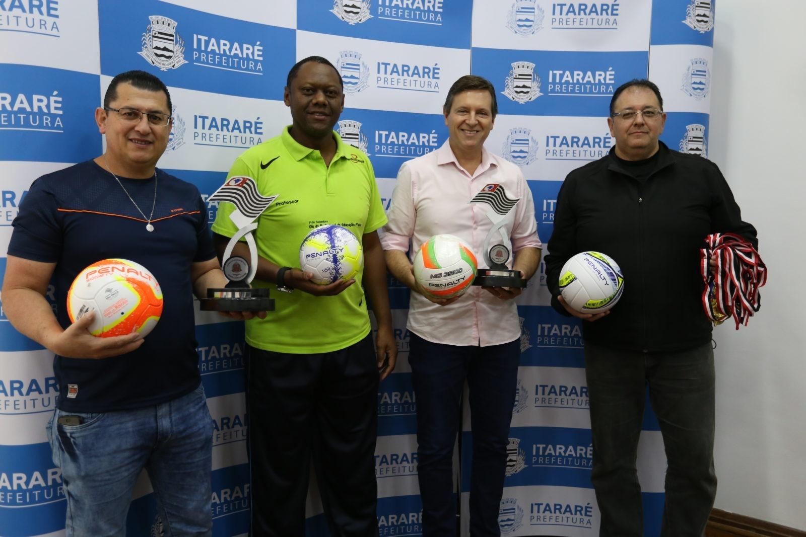 Prefeitura de Itararé (SP) conquista kit esportivo do Governo do Estado