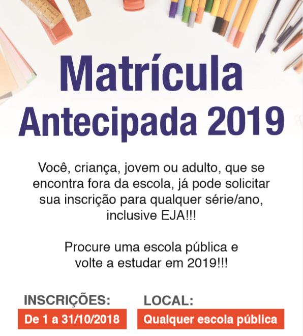 Matrículas de novos alunos terminam nesta quarta-feira (31) em Itararé (SP)