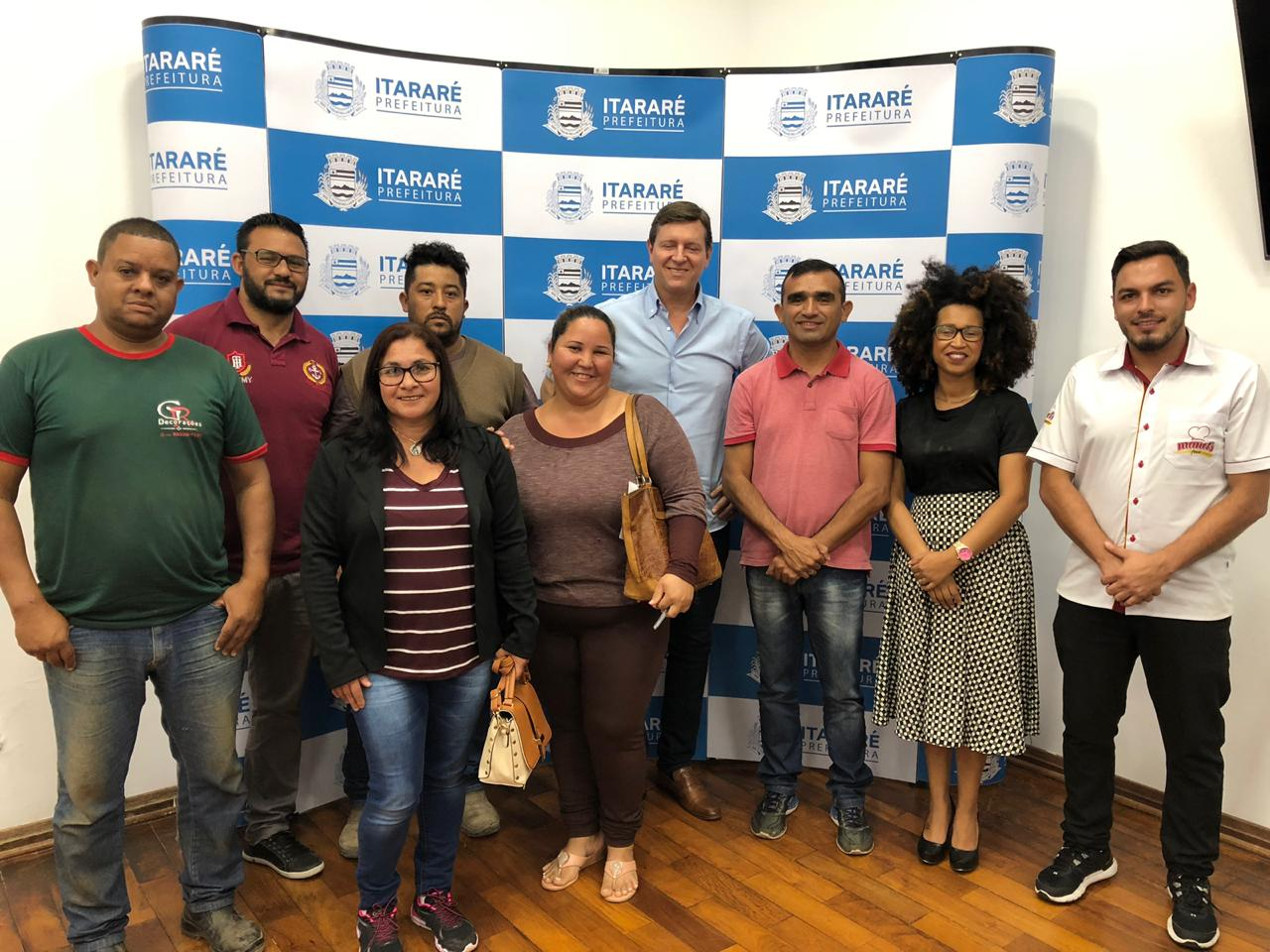 Prefeitura de Itararé (SP) recepciona líderes de bairros do município
