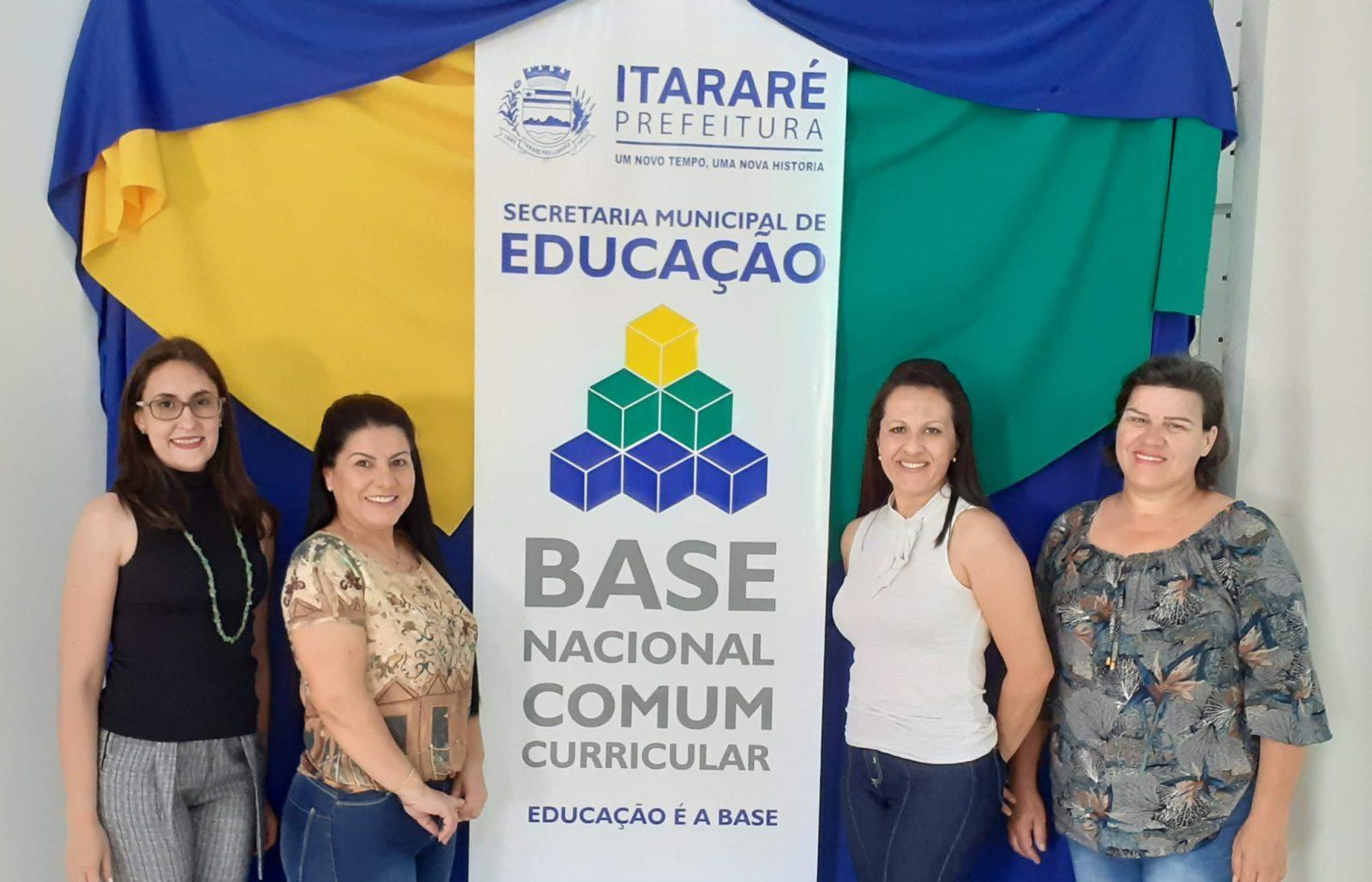 Educação de Itararé (SP) realiza mais um encontro do curso BNCC 'Educação é a base'
