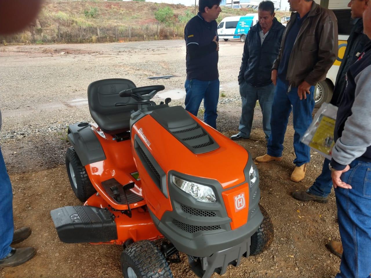 Prefeitura de Itararé (SP) adquire cortador de grama
