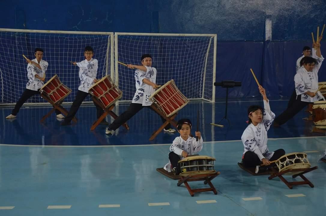 Grupo de Taikô e de dança fará a abertura da Feira das Nações de Itararé (SP)