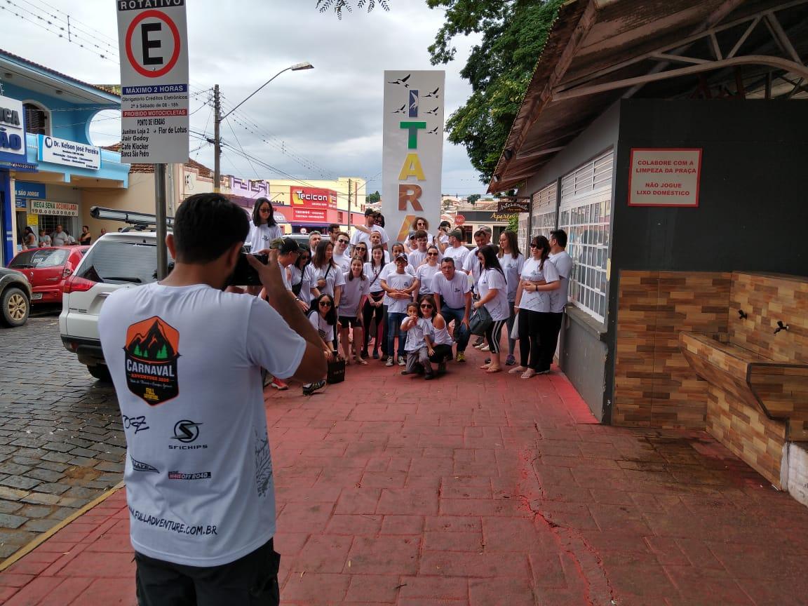 Mais de mil turistas visitam Itararé (SP) durante o carnaval