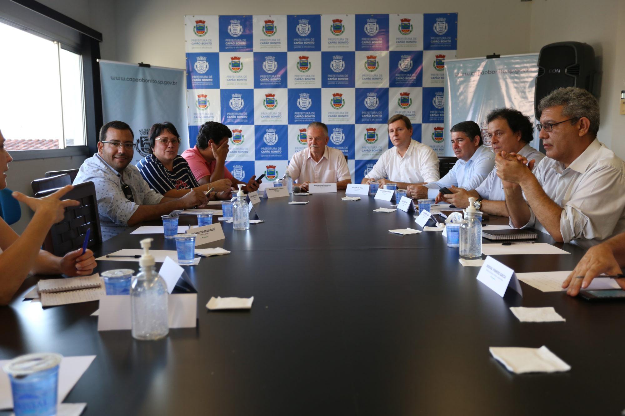Coronavírus: Prefeito de Itararé (SP) se reúne com membros do Condersul para traçar plano de ação