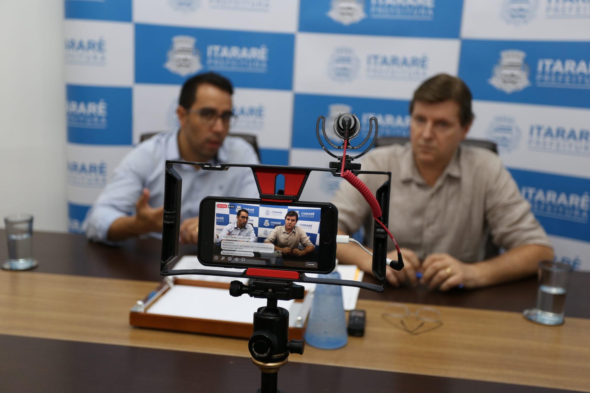 Coronavírus: Prefeitura de Itararé (SP) anuncia prorrogação do período de quarentena
