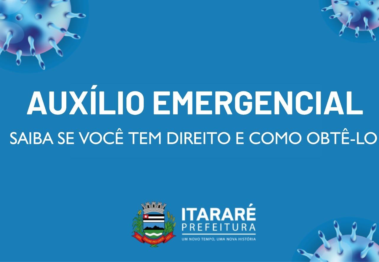 Coronavírus: Prefeitura de Itararé (SP) divulga novas informações sobre o auxílio emergencial
