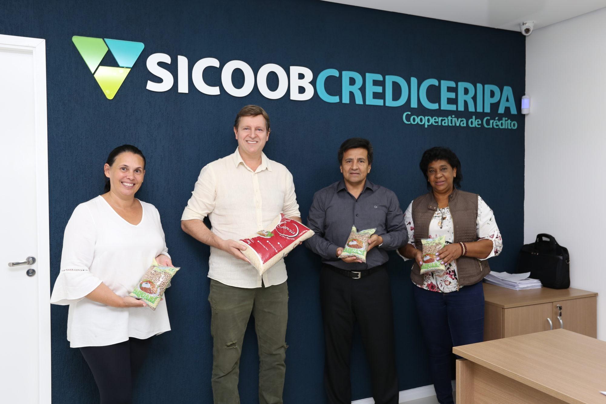 Coronavírus: Prefeitura de Itararé recebe doação de 780 quilos de alimento da Sicoob Crediceripa