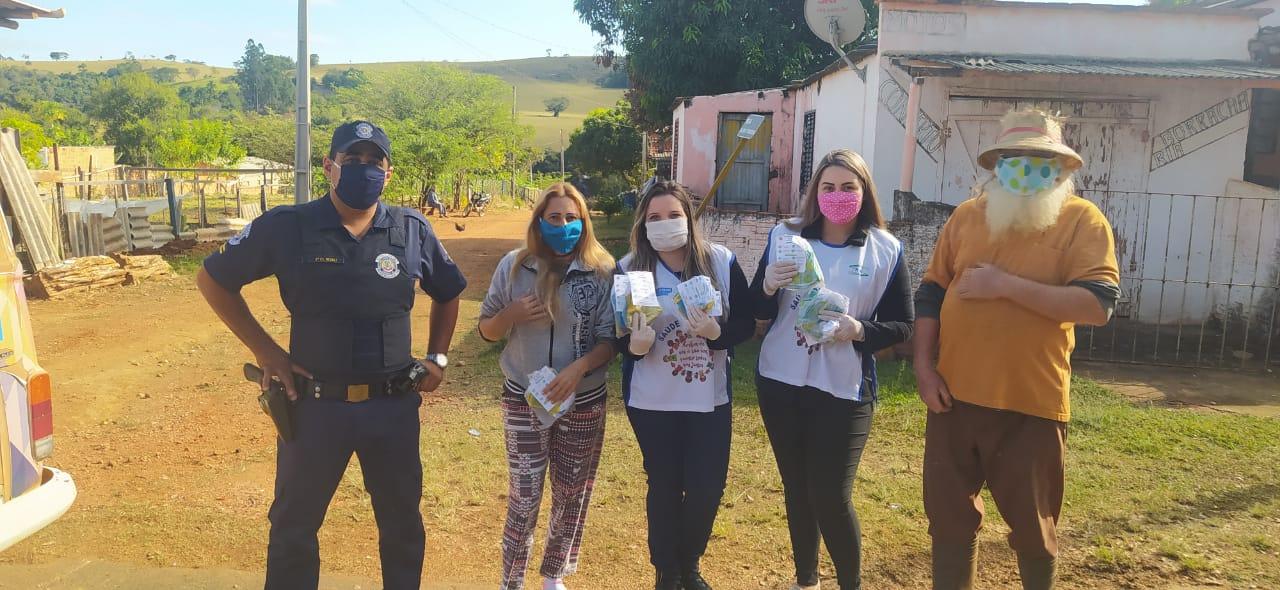 Coronavírus: Prefeitura de Itararé (SP) dá continuidade à distribuição de máscaras à população