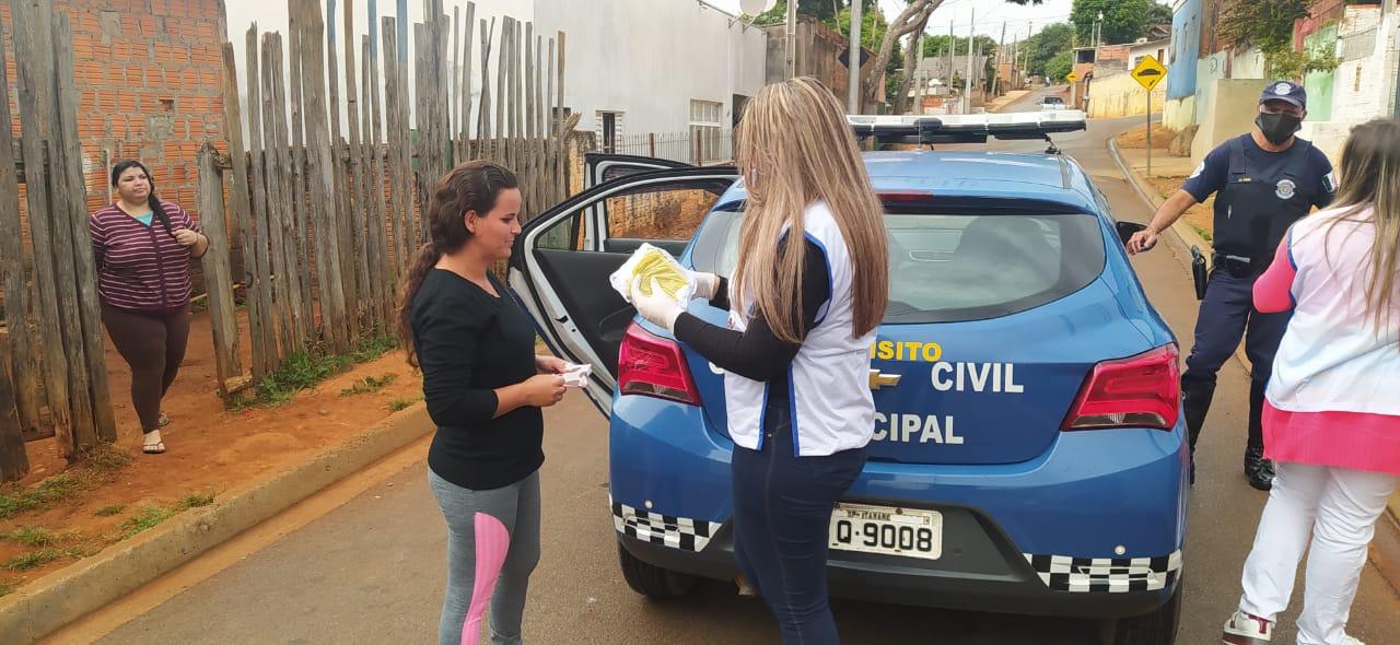 Prefeitura de Itararé (SP) distribui máscaras reutilizáveis à população
