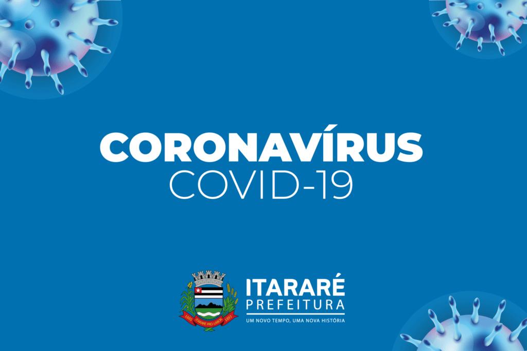 Coronavírus: Prefeitura de Itararé (SP) divulga dois negativos para a doença