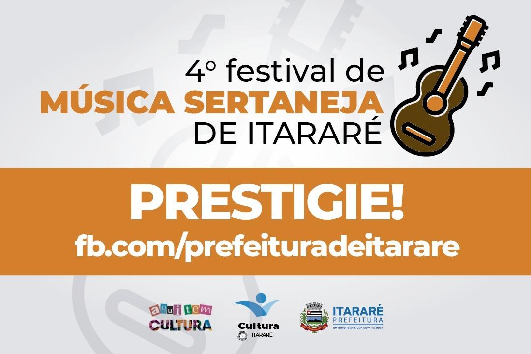 Votação do 4º concurso de Música Sertaneja em Itararé (SP) termina nesta sexta-feira (15)