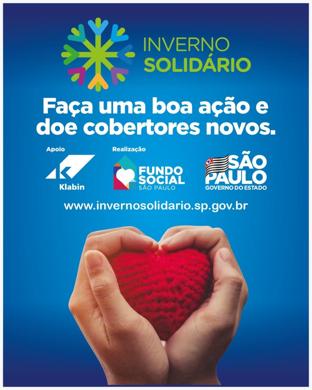 Prefeitura de Itararé (SP) dá início a campanha 'Inverno Solidário'