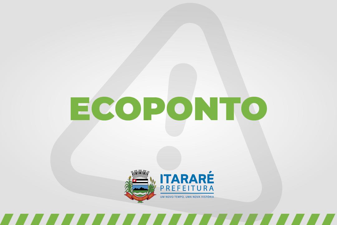 Ecoponto de Itararé (SP) retoma as atividades