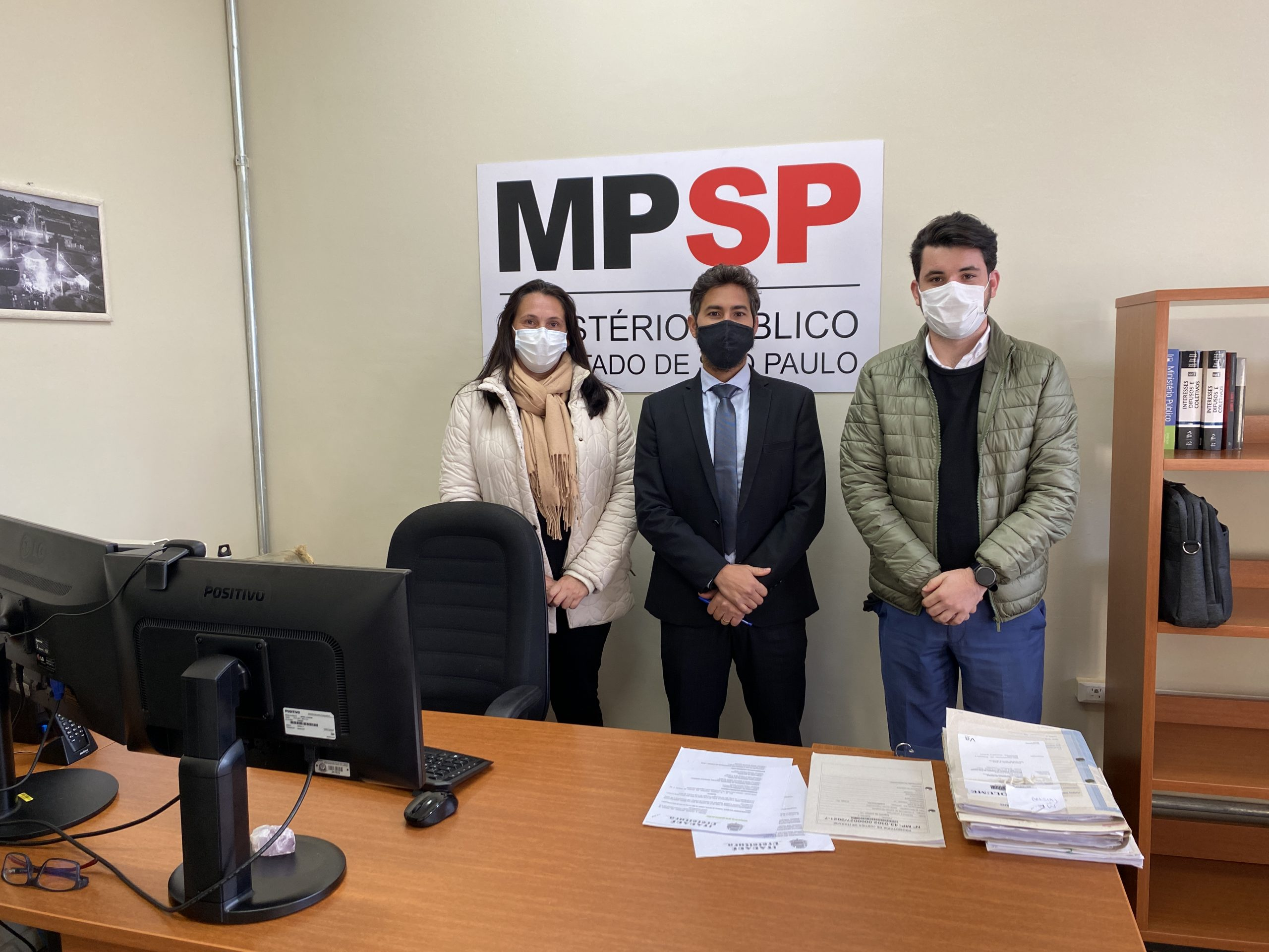 Nova diretoria do CMDCA de Itararé (SP) reúne-se com promotoria para apresentação dos novos membros