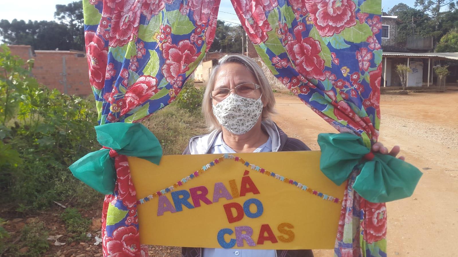 CRAS de Itararé (SP) realiza Arraiá Delivery para idosos do Serviço de Convivência e Fortalecimento de Vínculos